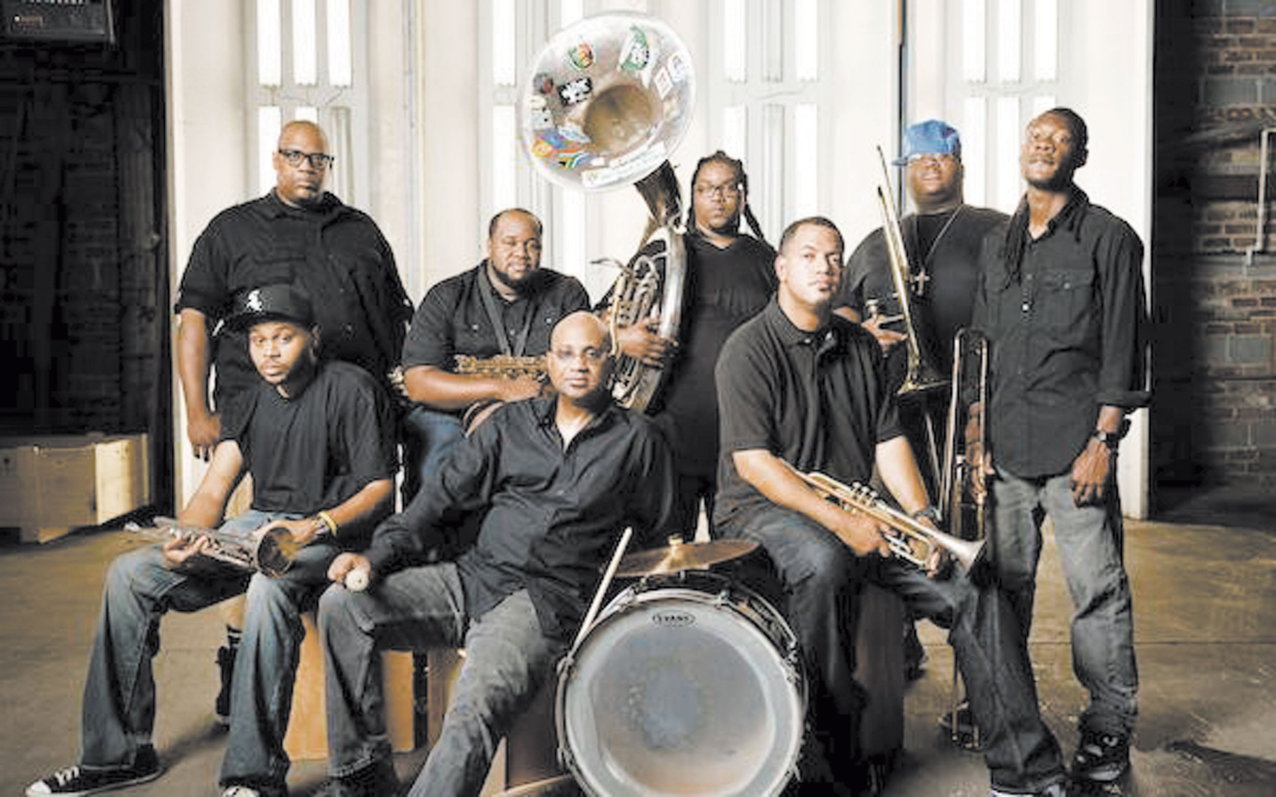 Saturday January 7th-Soul Rebels Brass Band -$5 Cover-9-Till